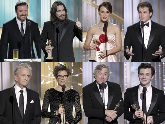 Highlights from the 2011 Golden Globes Show 2011-01-17 01:10:04