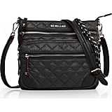 Shop Jen's Exact Quilted Crossbody Purse in Black