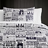 Daily Prophet Duvet Cover and Sham ($29 - $139)
