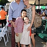 Nigel Barker and Cristen Barker attended the 2013 Baby Buggy Bedtime Bash with their kids.