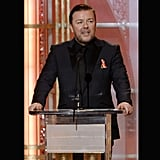Ricky Gervais Delivers Some Awkward-Funny Humor