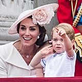 Kate Middleton had a sweet mom moment with Prince George at Trooping the Colour.