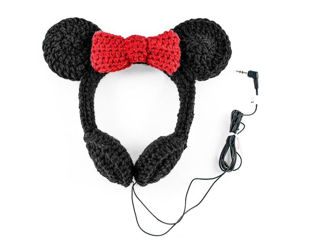 Minnie Mouse Crocheted Headphones