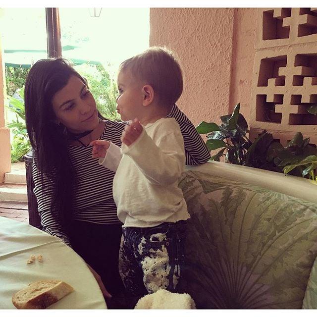 Kourtney Kardashian's Cutest Family Photos | POPSUGAR ...
