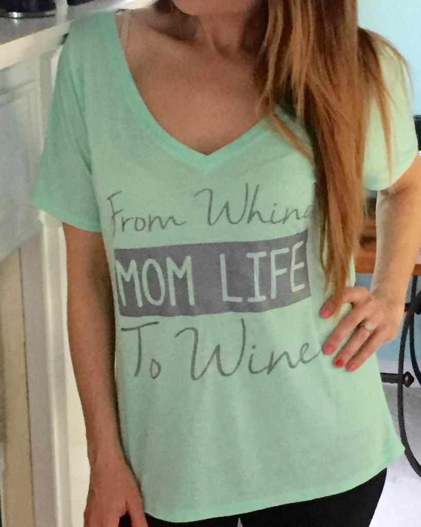 Wine Mom Shirt