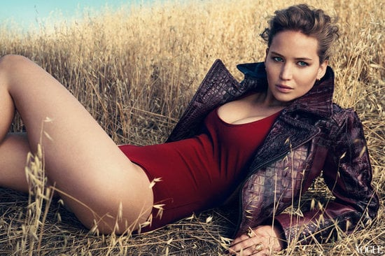 Jennifer Lawrence looks glamorous in US Vogue's 120th anniversary issue as one of the honorees on the Vogue 120 list.