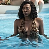 Molly's Leopard-Print One-Piece Swimsuit on Insecure