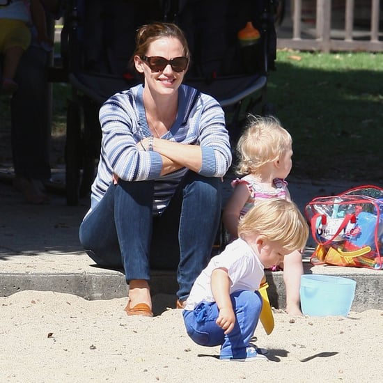 Jennifer Garner With Samuel, Violet, and Seraphina | Photos