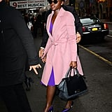 Lupita Nyong'o Looks Like a Real-Life Barbie During an NYC Stroll
