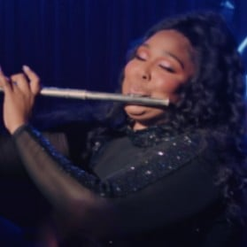 The Legend of Lizzo Playing Flute Video