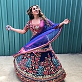 Beyoncé's Khosla Jani Embroidered Gown at Wedding in India