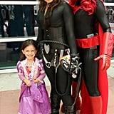 Rapunzel, Catwoman, and Batwoman