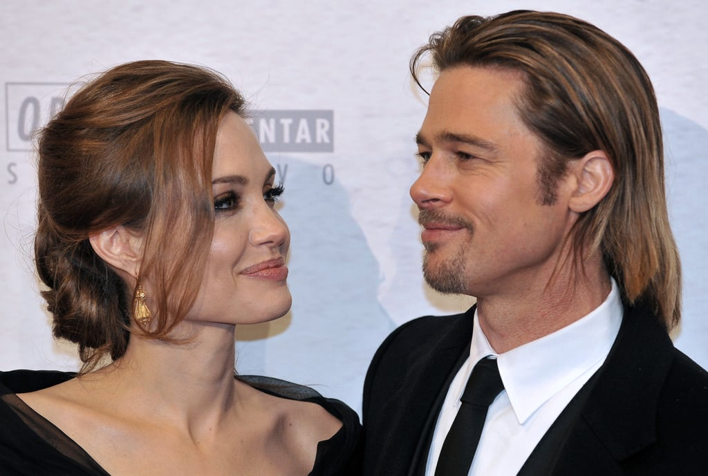 Angelina Jolie and Brad Pitt celebrated Valentine's Day in Sarajevo in February at a screening of In the Land of Blood and Honey.