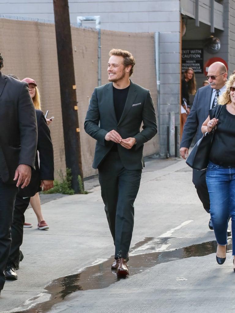Sam Heughan in LA July 2018 | POPSUGAR Celebrity Photo 5