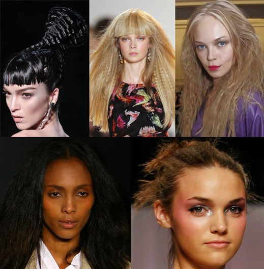 Crimped Hair Trend for Spring 2009