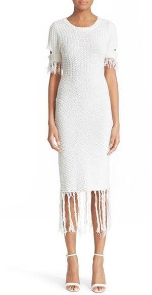 Jonathan Simkhai Cotton & Linen Knit Dress ($445)