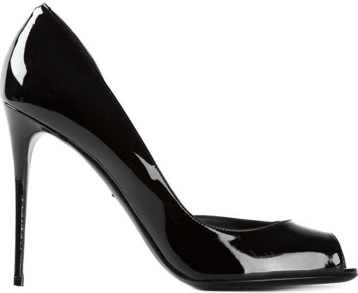 4d2953f6699 Dolce   Gabbana Peep Toe Pumps ( 895)