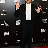 Psy hit the red carpet of Tribeca's Disruptive Innovation Awards.