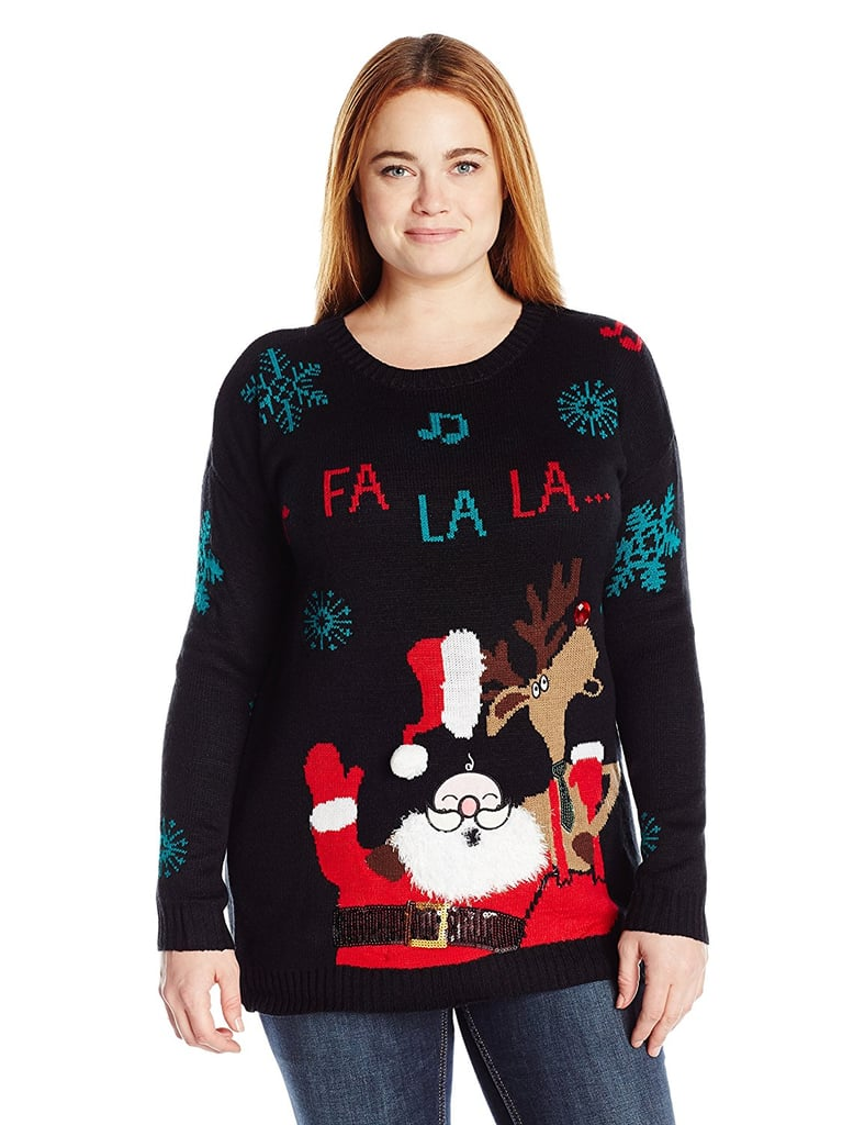 Allison Brittney Plus-Size Christmas Sweater