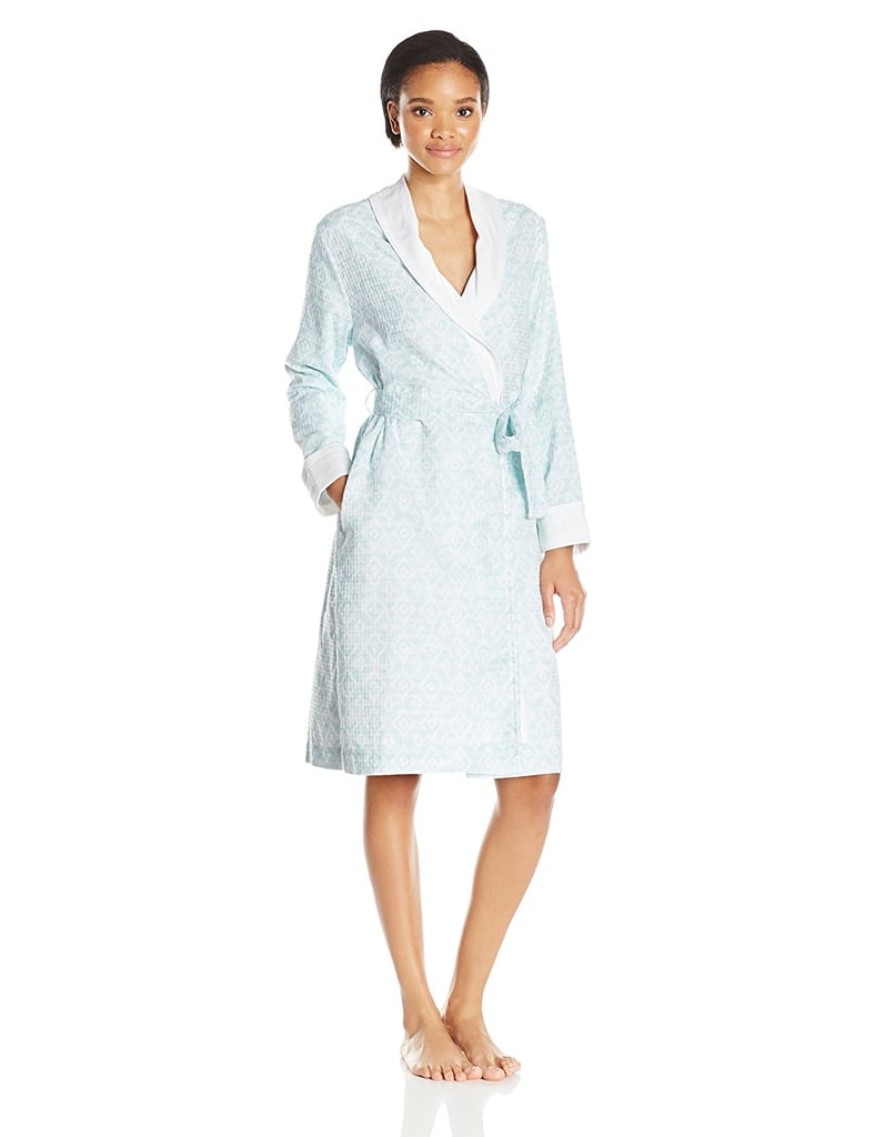 Jacquard Velour Terry Shawl Robe