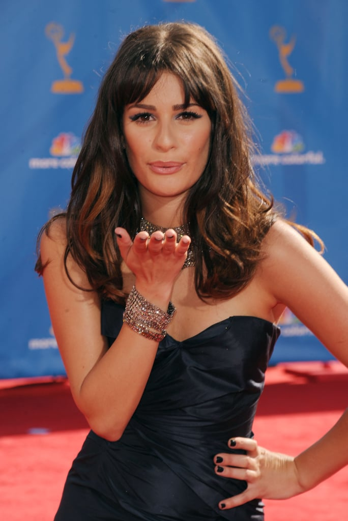 Lea at the 2010 Emmy Awards.