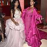 Pictured: SZA and Tracee Ellis Ross