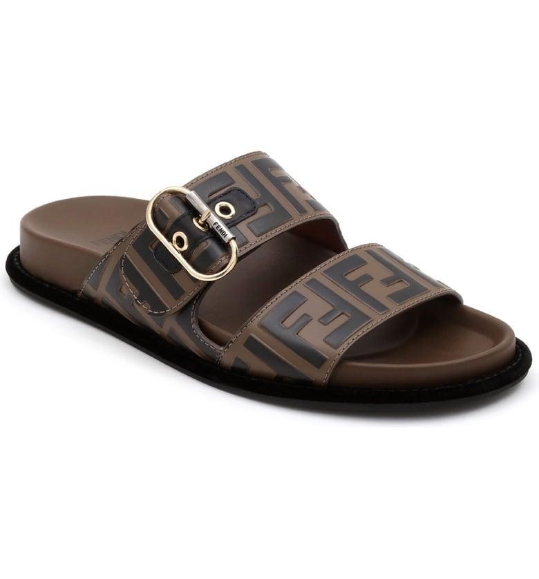 Fendi FF Buckle Slide Sandals