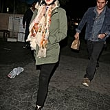 Katy Perry and John Mayer went on a date to Matsuhisa.