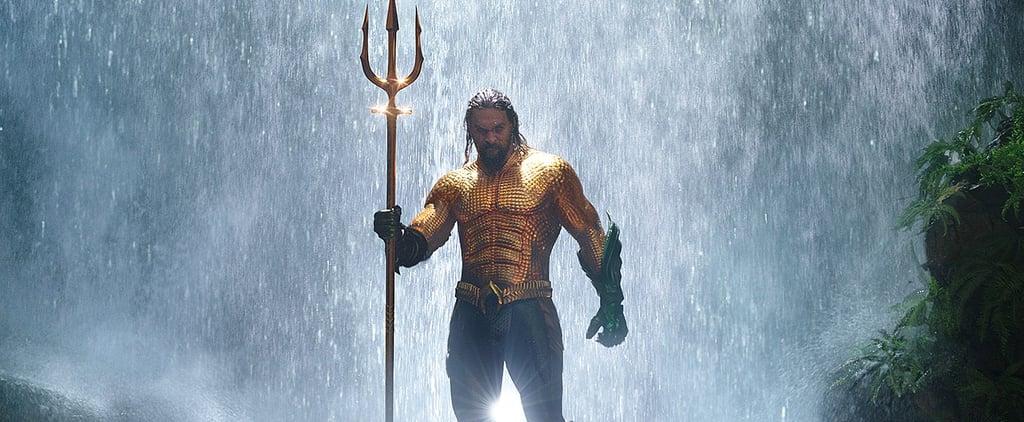 Jason Momoa as Aquaman Pictures