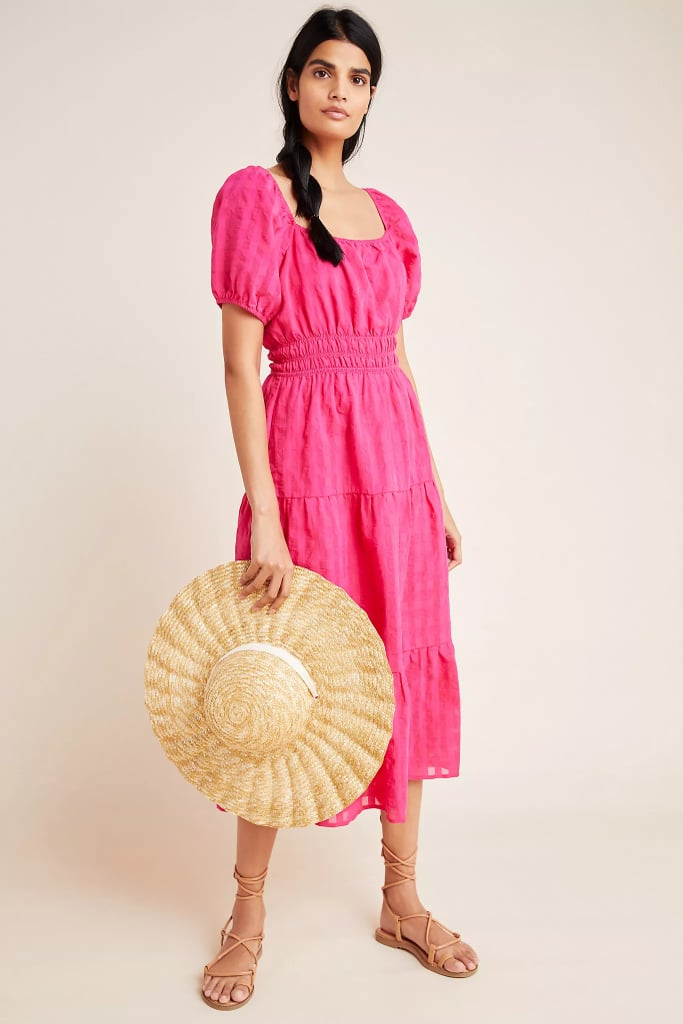 Francesca Tiered Midi Dress