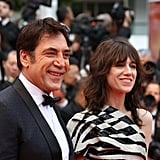 Javier Bardem and Charlotte Gainsbourg