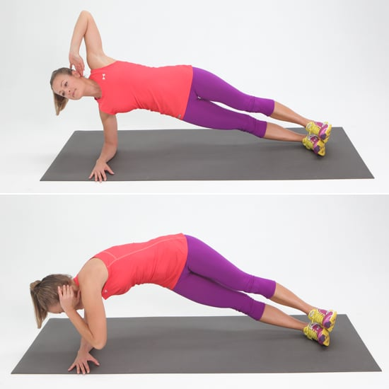 Top 10 Best Pilates Chairs For Home Exercises In 2018: Obliques: Twisting Side Plank