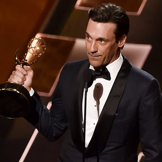 Video of Jon Hamm's Emmy Acceptance Speech 2015