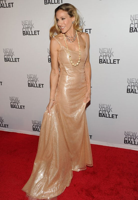Sarah Jessica Parker at the Fall Ballet Gala