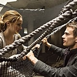 Tris and Four's first encounter.