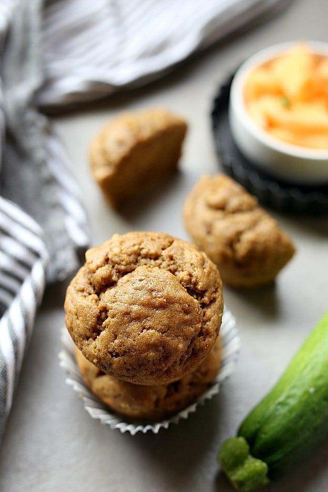 Banana Courgette Muffin