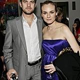 Joshua Jackson et Diane Kruger en 2006