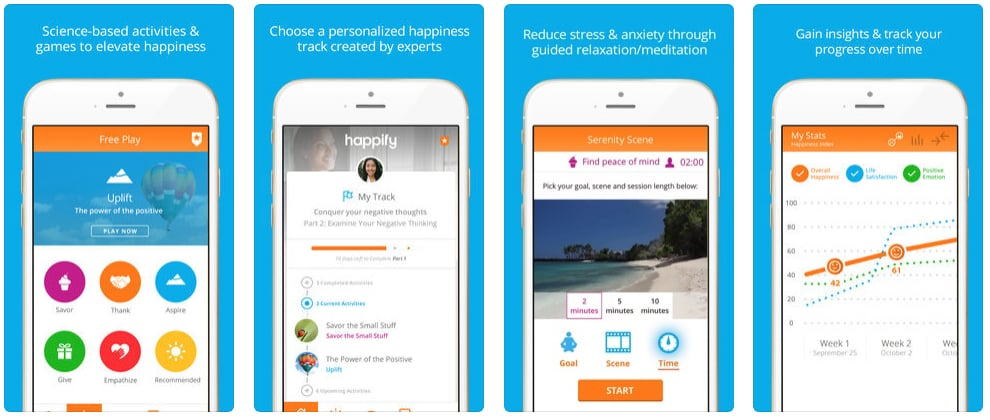 Happify: For Stress and Worry