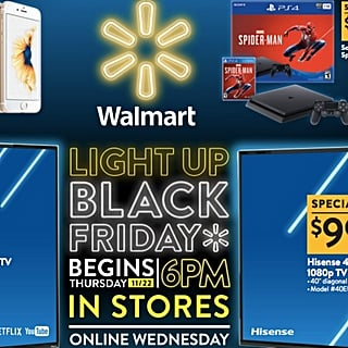 Best Deals From Walmart Black Friday 2018