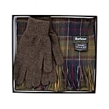 Barbour Classic Tartan Scarf and Glove Set