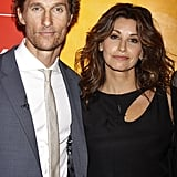Matthew McConaughey linked up with Gina Gershon at the Killer Joe screening in NYC.