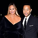Chrissy Teigen and John Legend at Magazine Innovator Awards