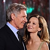 Harrison Ford and Calista Flockhart Cute Pictures