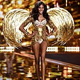 And in the 2014 Victoria's Secret Fashion Show. Brooks Brothers and Balmain Hair Couture also tapped Cindy for their Spring '16 campaigns.