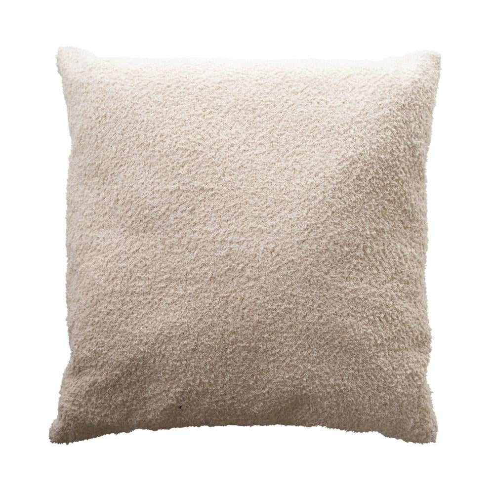 Effortless Composition Woven Cotton Boucle Pillow