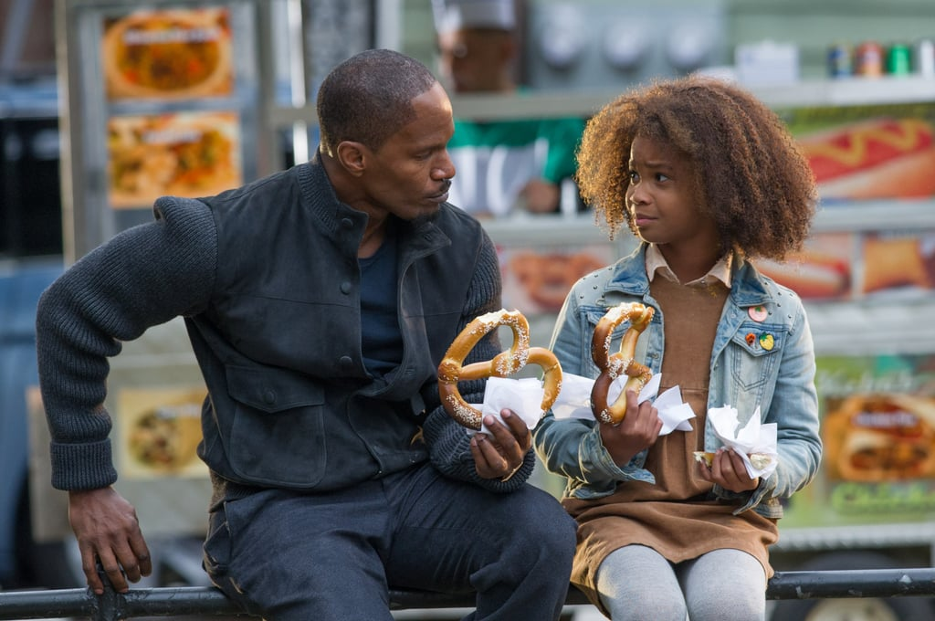 Why did you decide to add another family film to your résumé? Jamie Foxx: Well, my 4-year-old was on set of Django just watching people get blown away, so I just felt like we needed a change. It was also great for her to be able to come to set and watch Quvenzhané Wallis — someone who's her age — be so masterful.
