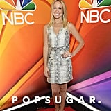 Anna Camp and Skylar Astin at NBC Upfronts 2019