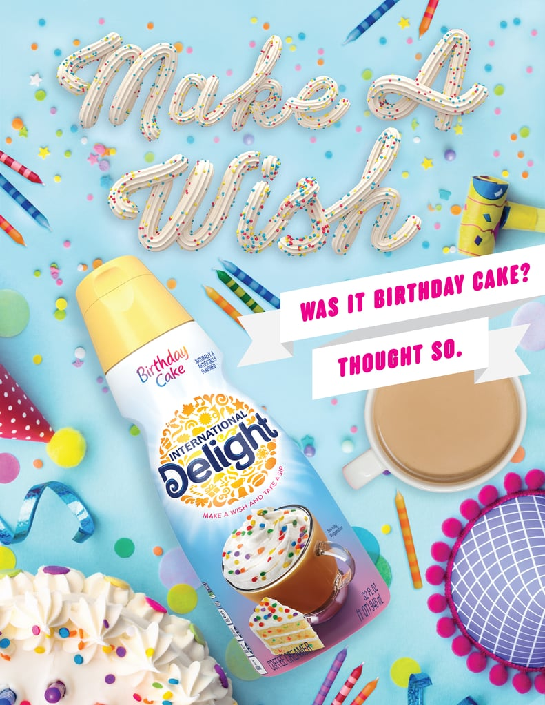 International Delight Birthday Cake and Cannoli Creamer