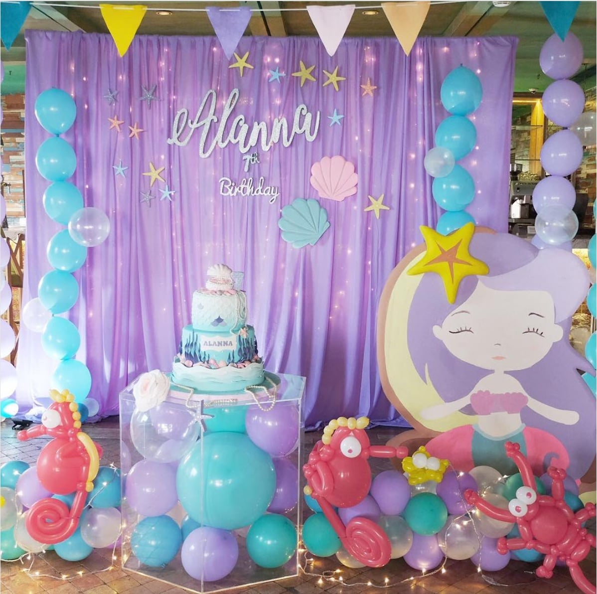 Mermaid Birthday Party Ideas POPSUGAR Moms