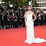 Adriana Lima's Bridal-Inspired Gown